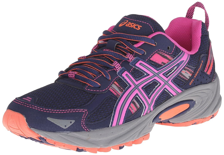 ASICS Women's GEL-Venture 5 Running Shoe B00YDI4RGI 10 B(M) US|Indigo Blue/Pink Glow/Living Coral