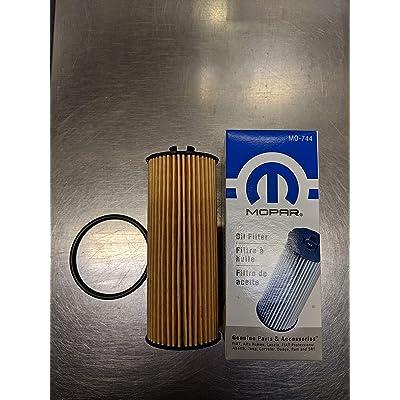 2011-2013 Chrysler Jeep Dodge Oil filter 3.6L Pentastar Engine MOPAR OEM: Automotive