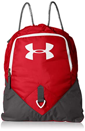Under Armour UA Undeniable Sackpack Mochila, Unisex Adultos, Rojo (Red)