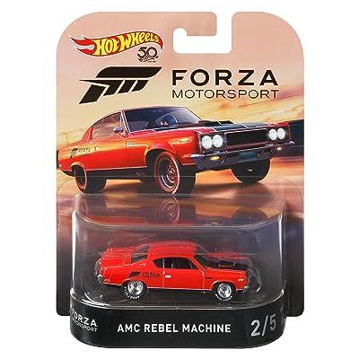 Hot Wheels 1970 AMC Rebel Machine Vehicle, 1:64 Scale: Toys & Games