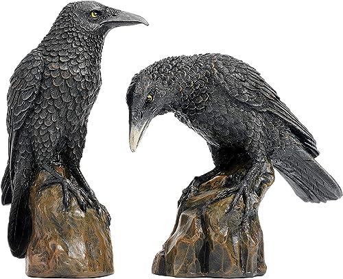 Design Toscano Mystic Night Raven Gothic Statue