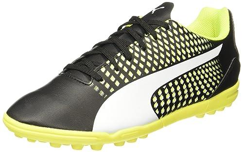 9f81c6d49ad Puma Men s Adreno Iii Tt Puma Black-Puma White-Safety Yellow Football Boots  -