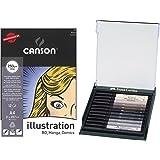 Tuschestift PITT artist pen B 12× (Monochrom mit Manga-Block)