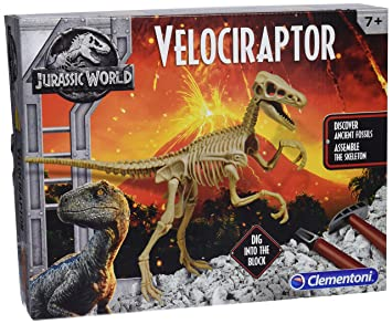 Clementoni – archéo Ludic Jurassic World – Velociraptor, 19063