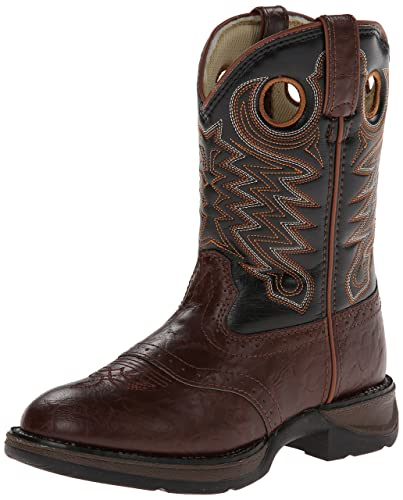 b8d1cd76033f Image Unavailable. Image not available for. Color  Durango Lil Little Kid  Saddle Western Boot