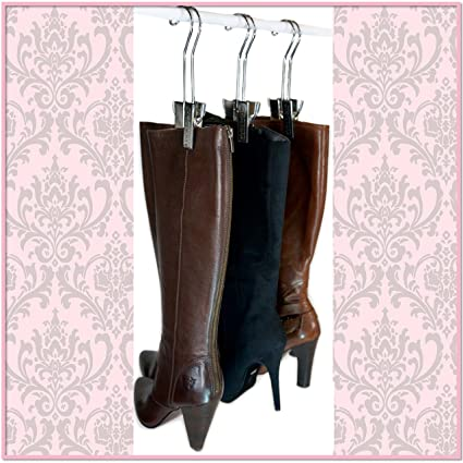 The Original Boot Hanger   Shoe Storage Space Saver (set Of 3); Boot