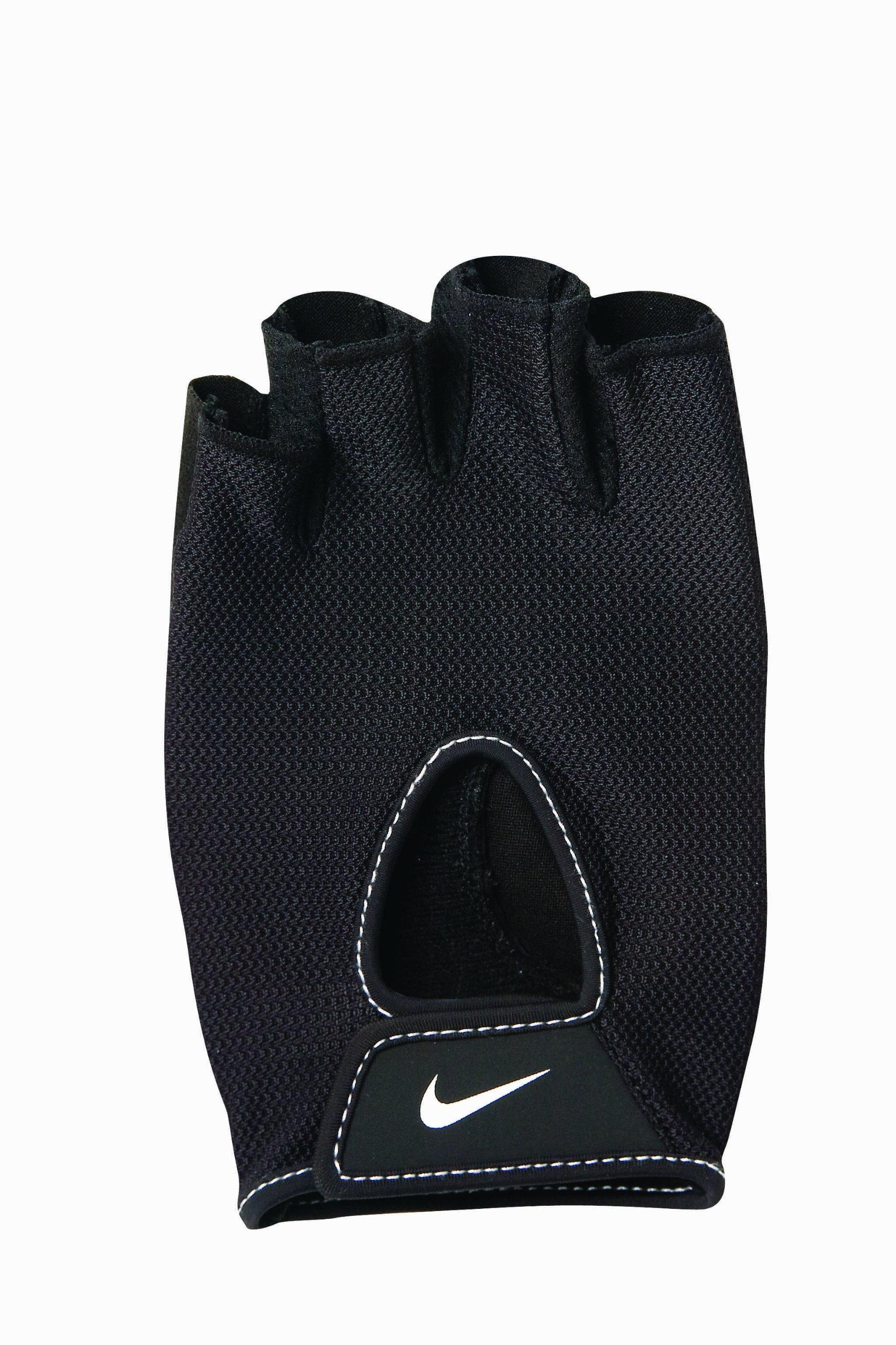 Nike Women's Fundamental Training Gloves II (Black/White, Medium) by Nike