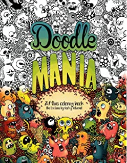 Oodles Of Doodles An Advanced Coloring Book For Adults Full Of