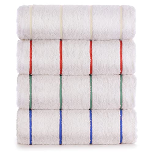 Luxury Hotel Towel Turkish Cotton Extra Large Pool-Beach Towel Set (Set of 4