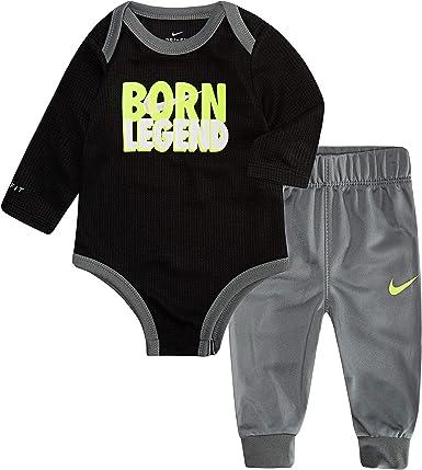 Nike Baby Boys' Long Sleeve Bodysuit