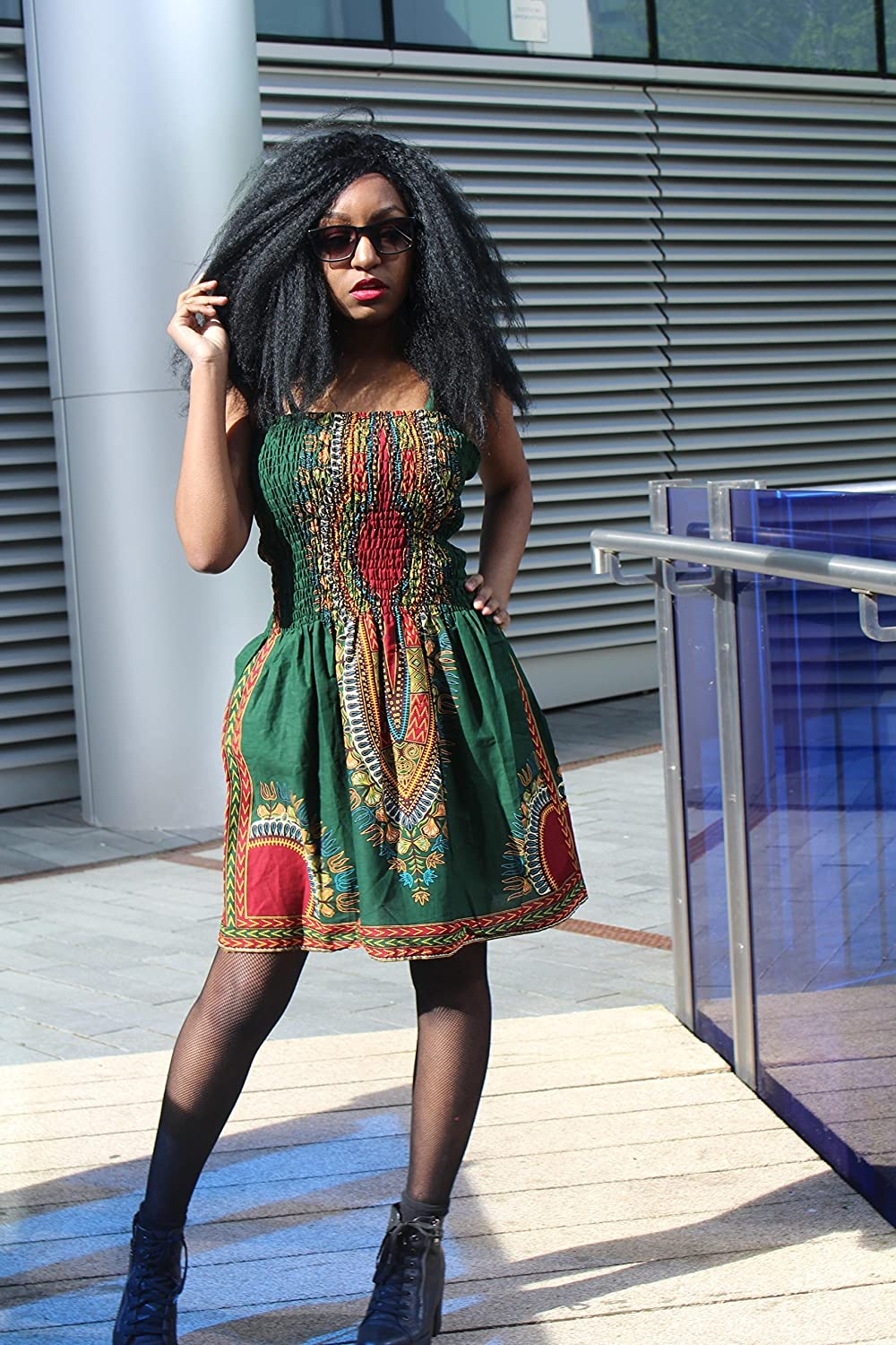 70c11b5e34e Our African Print Elastic Dresses are so beautiful, so simple and so  colourful... You can wear them dressed up, dressed down, and you can just  chick them on ...
