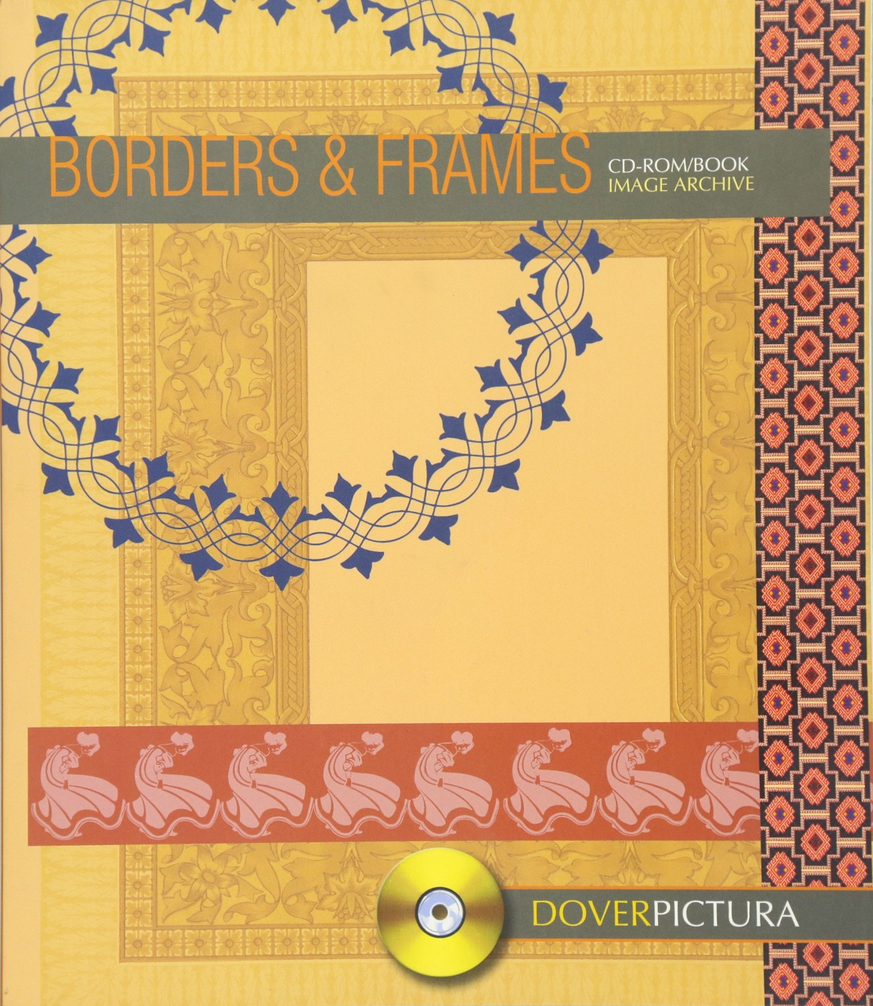 Read Online Borders and Frames (CD ROM & Book Image Archive) ebook
