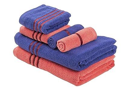 3d281bae0e7f Palatial Lifestyles™ Set of Six Soft   Premium Zero Twist Towels- 2 Bath  Towels