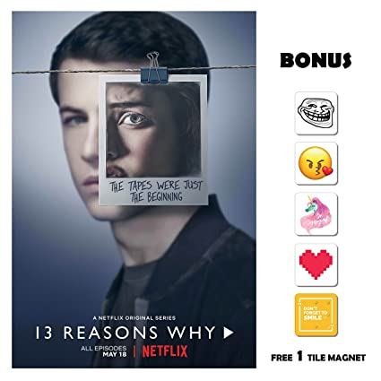 Amazoncom 13 Reasons Why Season 2 Poster 13 In X 19 In Poster