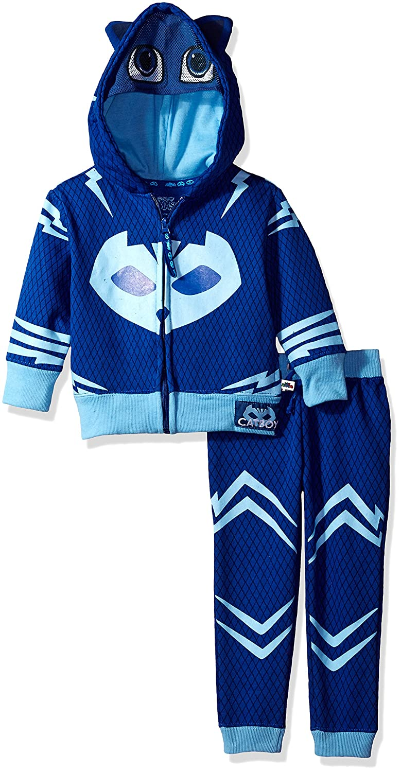 PJ Masks Little Boys Catboy Hoodie and Jogger Set