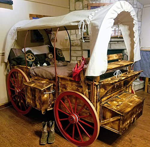 Goodnight Pioneer Wagon Twin Bed