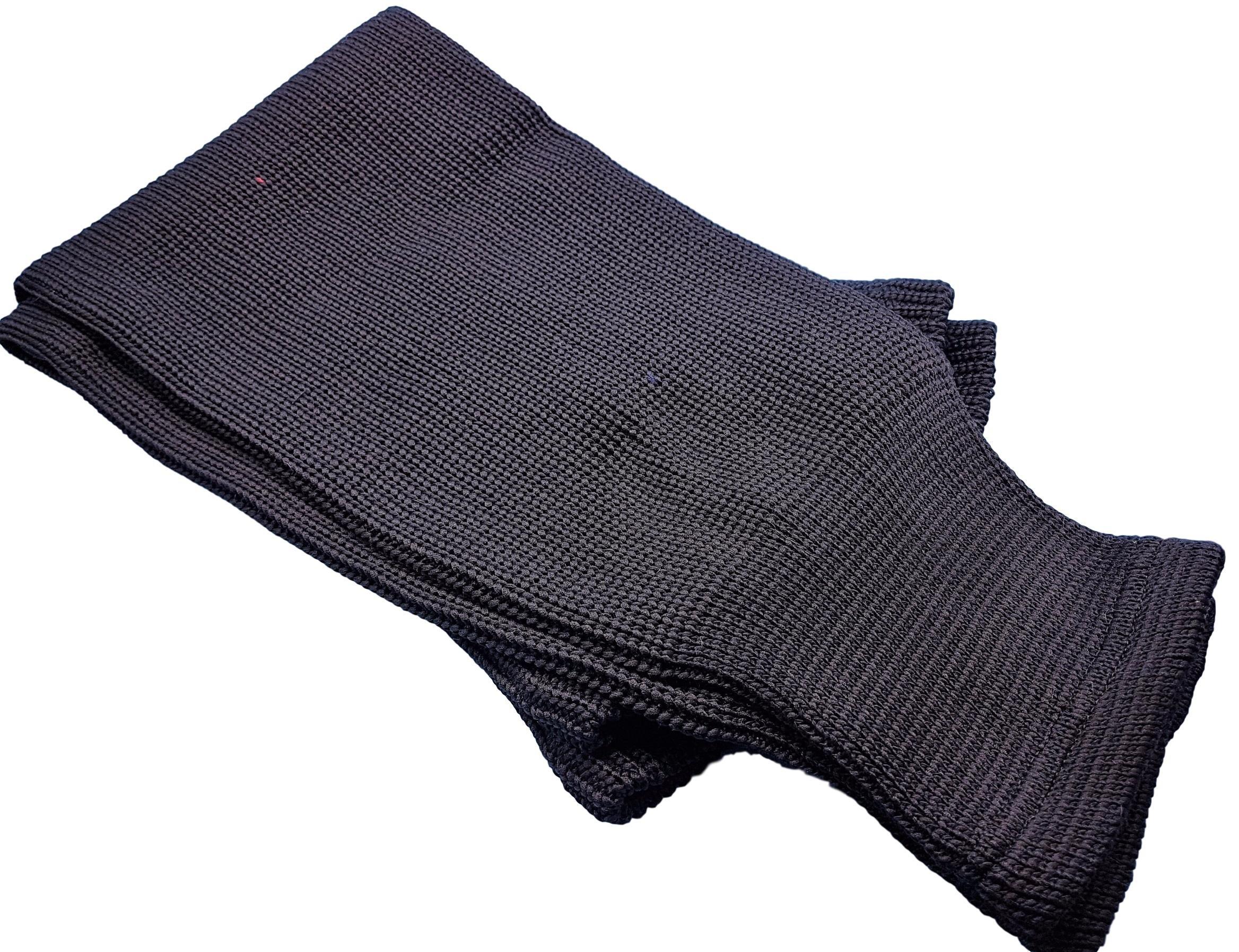 Hockey Socks Knit Made in Canada for Hockey Players (Senior 32'', 13 Black)
