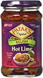 Patak's Hot Lime Relish Spicy & Fruity Extra Hot 10oz