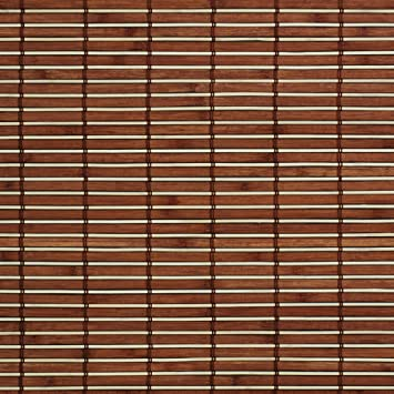Liedeco Rollo Holz Mit Seitenzug Holzrollo Fur Fenster Und Tur Braun B 90 Cm X L 220 Cm
