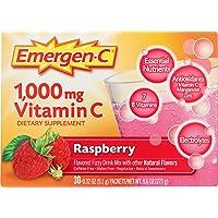 30-Count Emergen-C 1000mg Vitamin C Powder 0.32 Oz