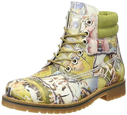 Coronel Tapiocca C355-90 - Botas para Mujer, Color Multicolor, Talla 36