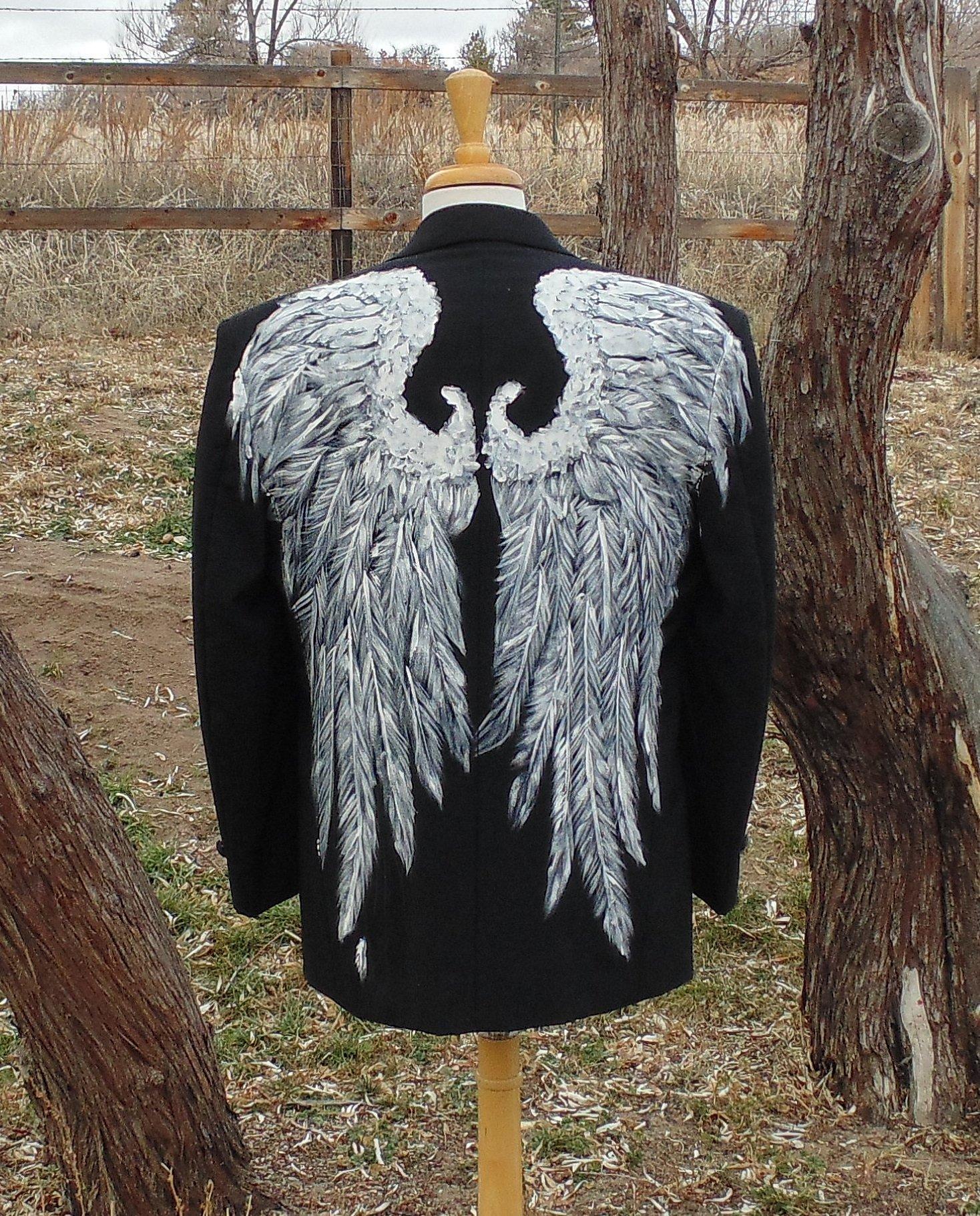 Men's Angel Wings Tux Jacket