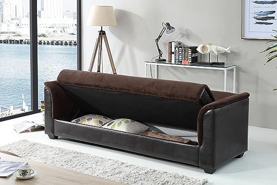 Amazon.com: Melanie SNS Express futon sofá cama con ...