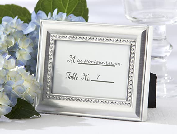 Amazon.com - Beautifully Beaded Photo Frame/Placeholder As seen in ...