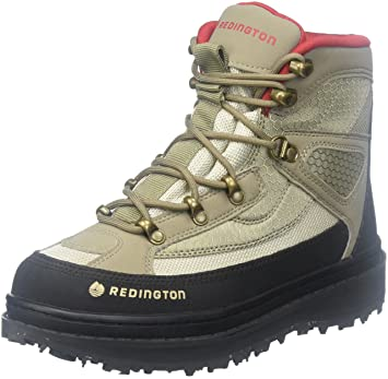 Redington Willow River Sticky Rubber Boots, Sand, 6