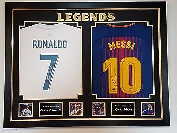 Camisetas Firmadas Y es Cristiano Ronaldo MessiAmazon Lionel Por WoexdrCB
