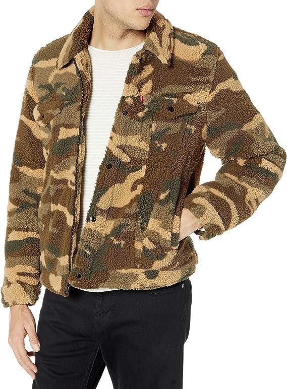 Levi's 李维斯 仿羊羔绒 男式夹克 XL码3折$23.59 海淘转运到手约¥257