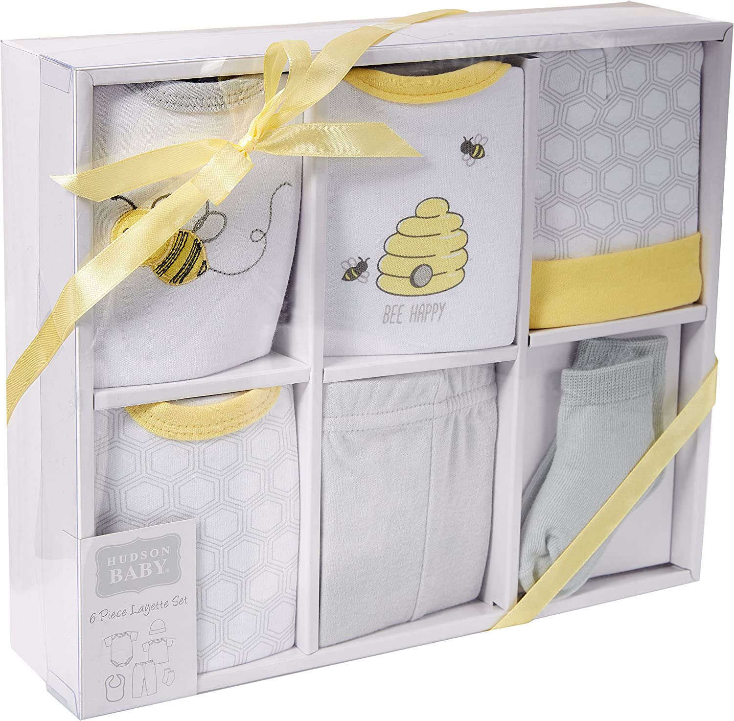 Hudson Baby Baby Layette Boxed Giftset