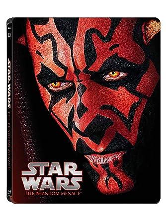 Amazon.com  Star Wars  Phantom Menace (Limited Edition Steel Book ... 07429c2bf