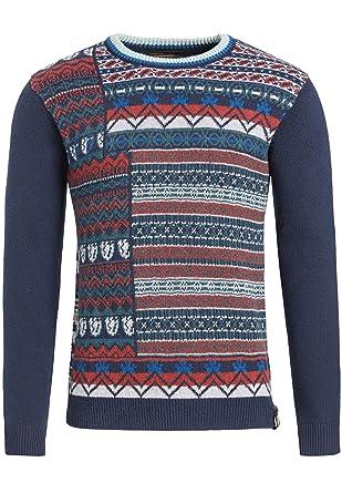 Bunt gemusterter Pullover