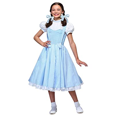 Deluxe Kansas Girl Kids Costume: Clothing
