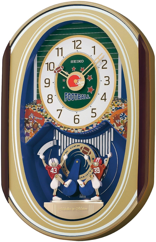 Amazon seiko melodies in motion football theme clock watches amipublicfo Images