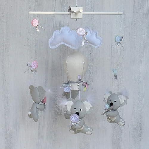 72faf4132c778 Amazon.com: Koala baby mobile/Nursery decor koala/Koala nursery ...