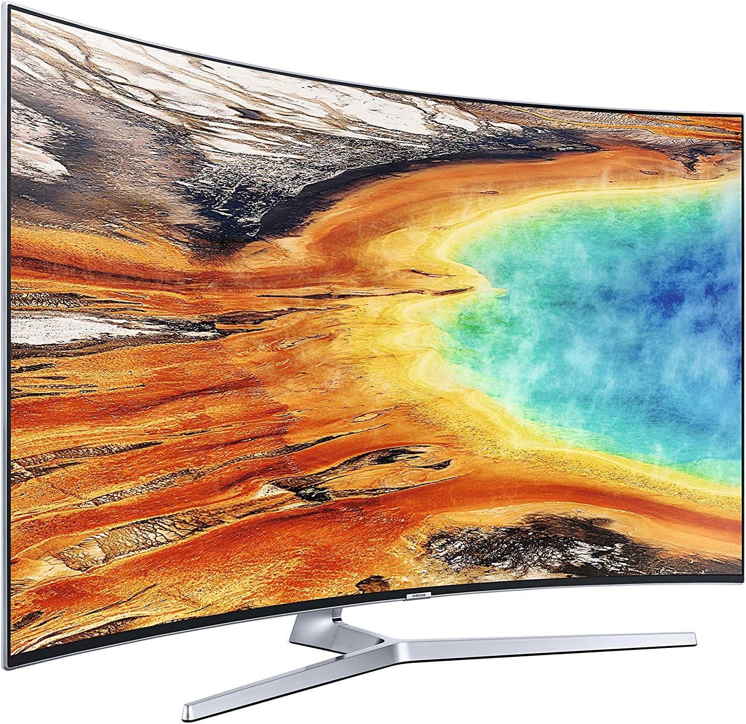 SAMSUNG TV led de 55 Pulgadas ue55mu9000txxu Ultra HD Inteligente Curvo uhd: Amazon.es: Electrónica