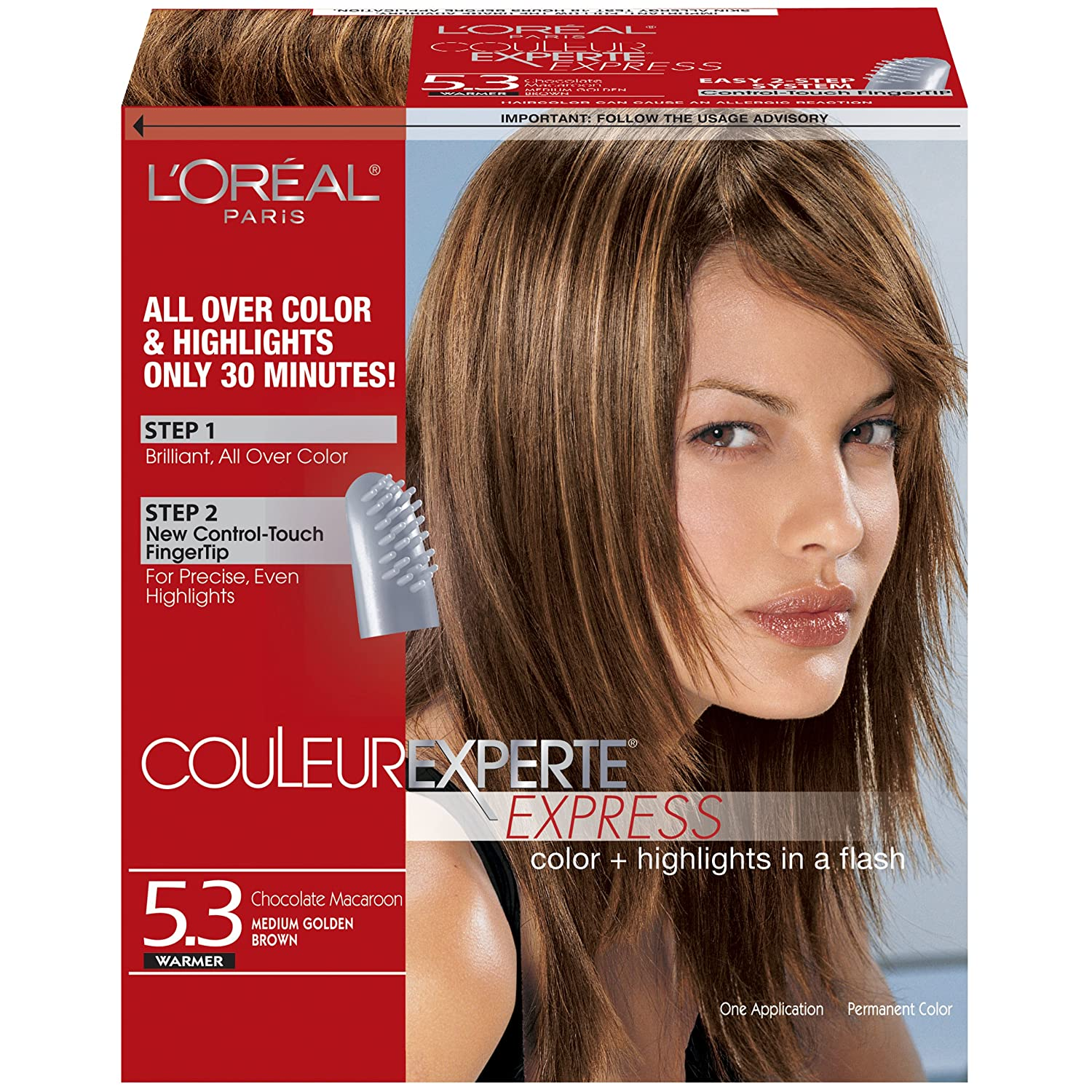 Loreal Paris Couleur Experte Express Hair Color 53 Medium Golden