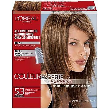 Amazon.com : L\'Oreal Paris Couleur Experte Express Hair Color, 5.3 ...