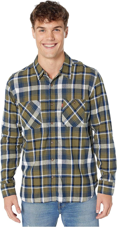 Levis Barda Camisa de franela - Verde - Small: Amazon.es: Ropa y accesorios