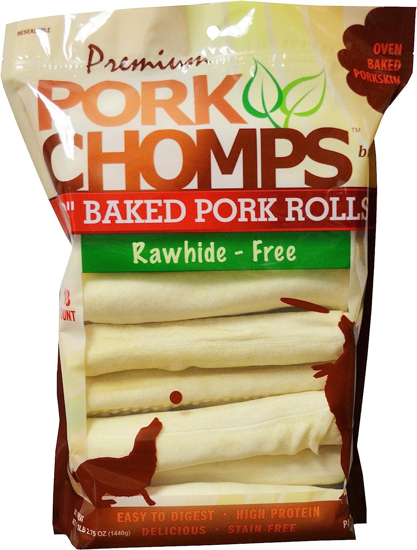 Scott Pet 18 Count Pork Chomps Premium Baked 8