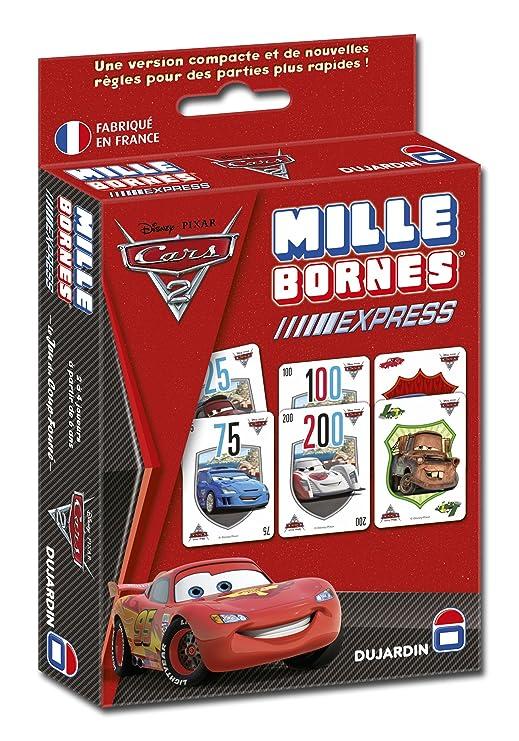 Cars Dujardin - 59246 - Juego de Tablero - 1000 Bornes Express 2 [Importado de Francia]: Amazon.es: Juguetes y juegos