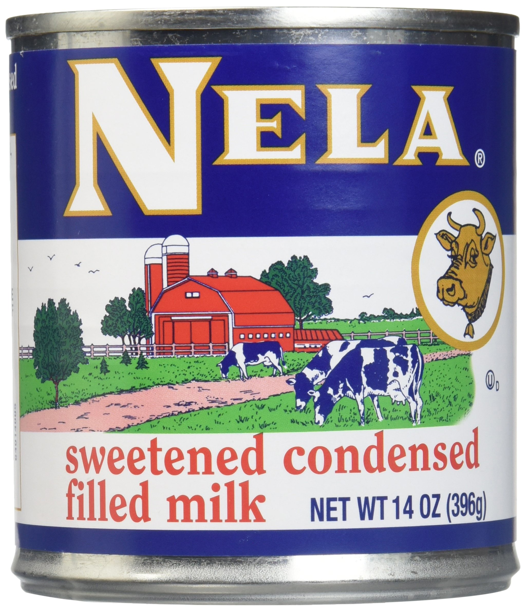 Goya Nela Sweetened Condensed Filled Milk, 14 Ounce -- 24 per case.