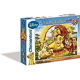 Clementoni Puzzle 24415 - Puzzle maxi (24 piezas), diseño de El Rey León