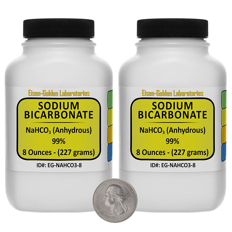 Amazon.com: bicarbonato de sodio [nahco3] 99% polvo de ACS ...