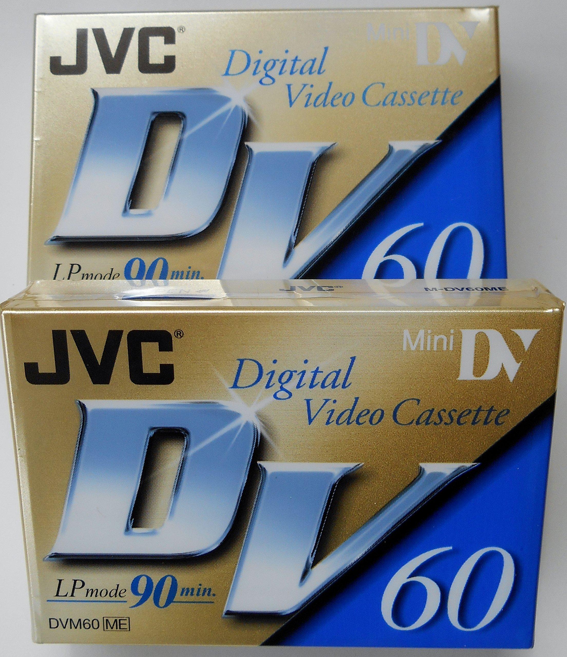 JVC Mini Digital Video Cassette, 2-Pack by JVC