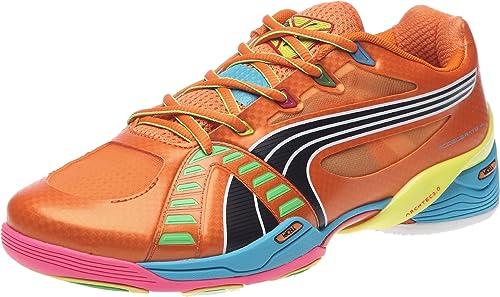 chaussure golf puma orange