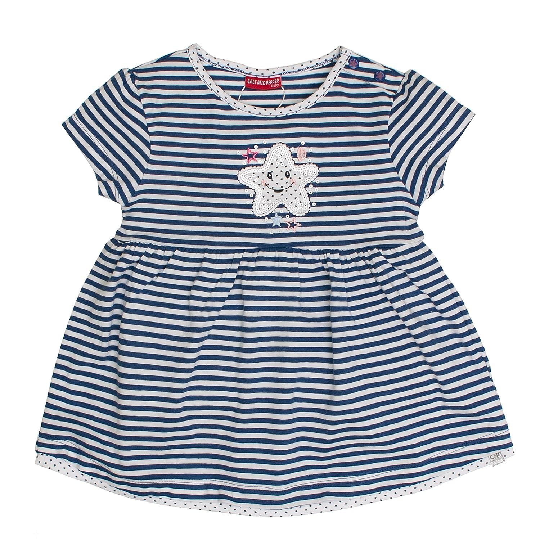 SALT AND PEPPER Baby-Mädchen Kleid B Dress Summer Stripe 83213233