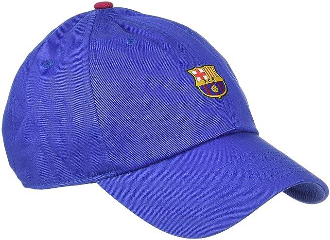 Amazon.com: Nike FC Barcelona Heritage86 Sombrero (Azul ...